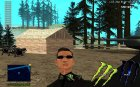 C-HUD Monster Energy для GTA San Andreas вид слева