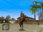 Horse Riding Anywhere для GTA San Andreas вид сверху
