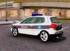 Golf V - BIH Police Car для GTA San Andreas вид справа