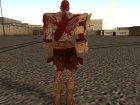 Bloody Kratos from God of War 3 для GTA San Andreas вид сверху