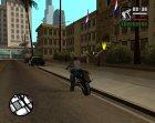 Пак улучшенной полиции для GTA San Andreas вид сзади слева
