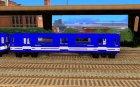 Liberty City Train Sonic для GTA San Andreas вид слева