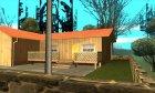 Новый дом Сиджея в Паломино Крик + новые двери. for GTA San Andreas rear-left view