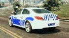 Opel Insignia 2016 Yeni Türk Polisi for GTA 5 rear-left view