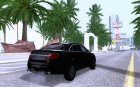 Ford Taurus Interceptor Unmarked 2013 для GTA San Andreas вид слева