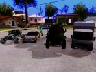 Пак машин для GTA San Andreas вид слева