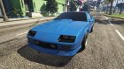 1990 Chevrolet Camaro IROC-Z 1.0 for GTA 5 top view