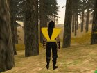 Scorpion Mortal Kombat for GTA San Andreas side view