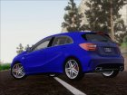 Mercedes-Benz A45 AMG 2012 (Second Complect Paintjobs) for GTA San Andreas top view