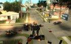 Трансформеры for GTA San Andreas left view