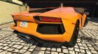 2012 Lamborghini Aventador LP700-4 for GTA 5 rear-left view