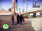Slipknot куртка for GTA San Andreas rear-left view