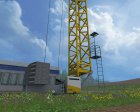 Placeable Liebherr для Farming Simulator 2015 вид сзади слева