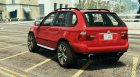 BMW X5 E53 2005 Sport Package for GTA 5 rear-left view