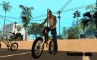 Пак велосипедов от Elaman24 для GTA San Andreas вид слева