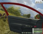 VW Golf Gti v1.0 Red for Farming Simulator 2013 inside view