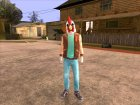 Jacket Payday2 Hotline Miami for GTA San Andreas left view