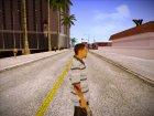 Aztec 2 (GTA V) for GTA San Andreas rear-left view