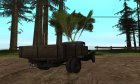 1940 GAZ-MM without IVF для GTA San Andreas вид изнутри
