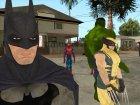 Марвел супергерои for GTA San Andreas left view