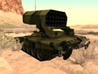 TOS-1A for GTA San Andreas left view