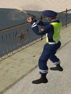 Инспектор ДПС в форме старого образца for GTA San Andreas right view
