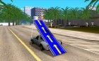 Пикап - Трамплин for GTA San Andreas rear-left view