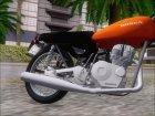 Honda CG 125 Classic для GTA San Andreas вид сбоку