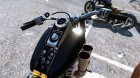 Harley-Davidson Fat Boy Lo Racing Bobber Lost MC Custom 1.1 for GTA 5 top view
