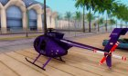 Helicopter MD500E PJ1 for GTA San Andreas left view