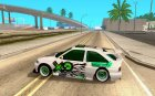 Ford Escort RS HELLA для GTA San Andreas вид слева