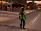Mortal Kombat X Klassic Human Reptile for GTA San Andreas left view