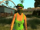 Female GTA Online Grove Style