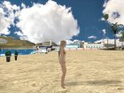 Dead or Alive 5 LR Marie Rose Nude for GTA San Andreas back view
