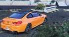 2013 BMW M6 Coupe for GTA 5 rear-left view