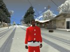 Red Jacket Santa Claus
