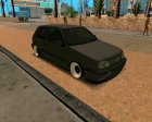 Volkswagen Golf 3 Stanced for GTA San Andreas inside view