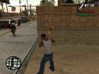 Бита с логотипом Rockstar Games для GTA San Andreas вид изнутри