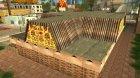 Новая пиццерия в Айдлвуде for GTA San Andreas top view