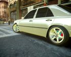 Mercedes-Benz w124 BRABUS v1.0 for GTA 4 back view
