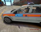 Vauxhall Astra 2009 Police 911EP Galaxy for GTA 4 top view
