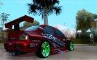 Mitsubishi Lancer Evolution 9 Hypermax for GTA San Andreas top view