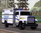 Enforcer Metropolitan Police for GTA San Andreas left view