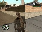 Zombie mod for GTA San Andreas left view
