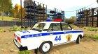 "ВАЗ 2105 ""Полиция"" для GTA 4 вид сзади слева"