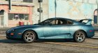 Unmarked 1998 Toyota Supra for GTA 5 left view