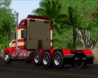 Kenworth T800 Road Train 8X6 for GTA San Andreas rear-left view