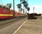 Плацкартный вагон РЖД для GTA San Andreas вид изнутри