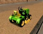 JDeere-Mower for GTA San Andreas rear-left view