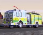 Pierce Arrow XT Miami Dade Fire Department Engine 45 для GTA San Andreas вид сзади слева